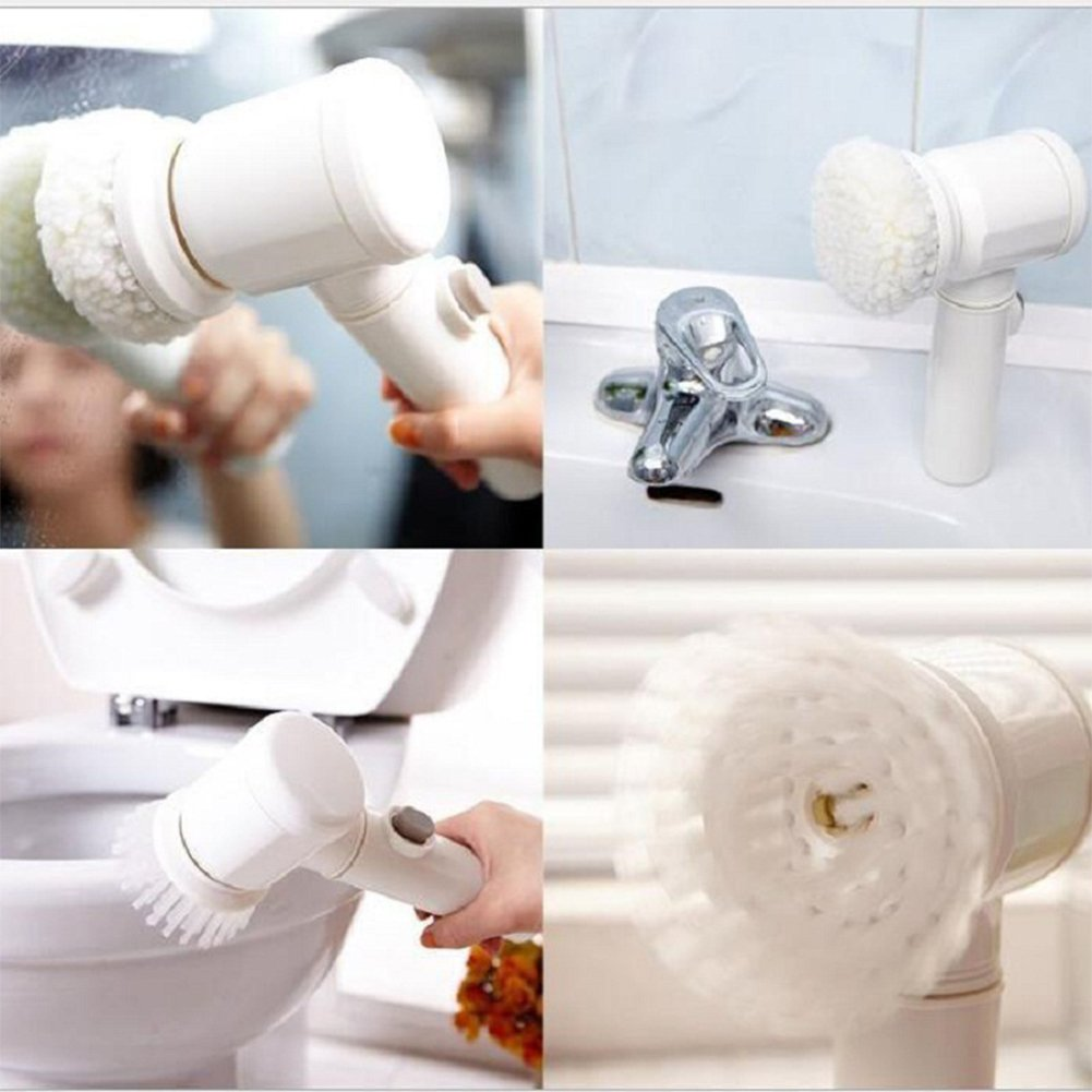 Amyove Handhold Electric Cleaning Brush for Bathroom Tile and Tub Kitchen Washing Tool by Amyove (Image #4)