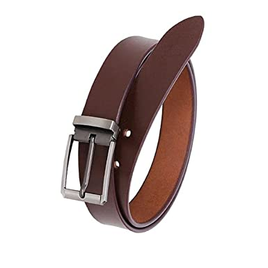 26e3d0d0987 KAEZRI 100% Genuine Leather Smooth Look Casual and Formal Belts For Men and  (2 Year ...