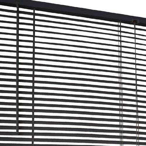 Jalousie / Jalousette / Plissee - BxH im Angebot wählbar - in schwarz oder weiss inkl. Montage-Set