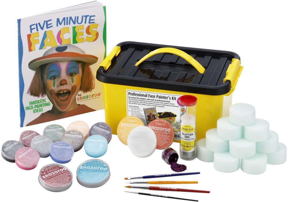 Snazaroo - Pintura facial y corporal, kit profesional de 35 piezas: Amazon.es: Juguetes y juegos