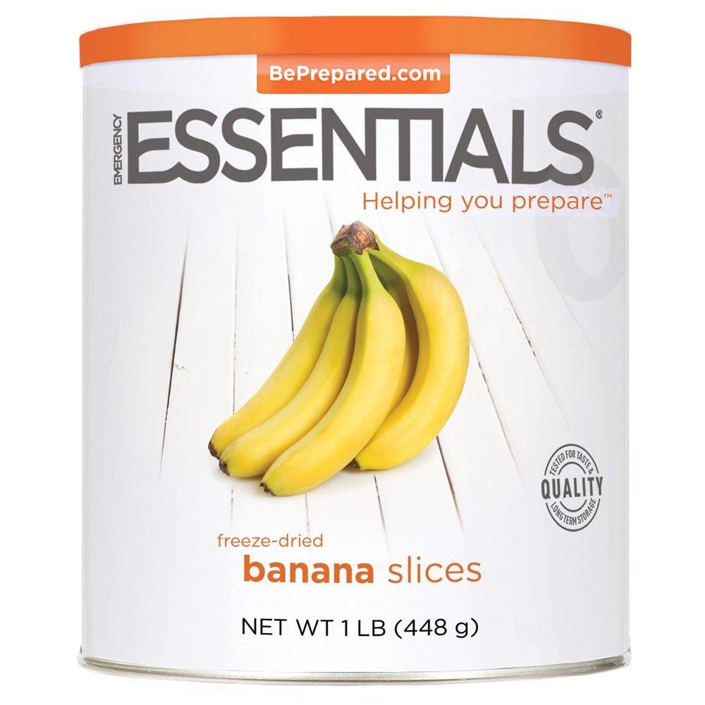 Emergency Essentials Freeze Dried Banana Slices - 16 oz