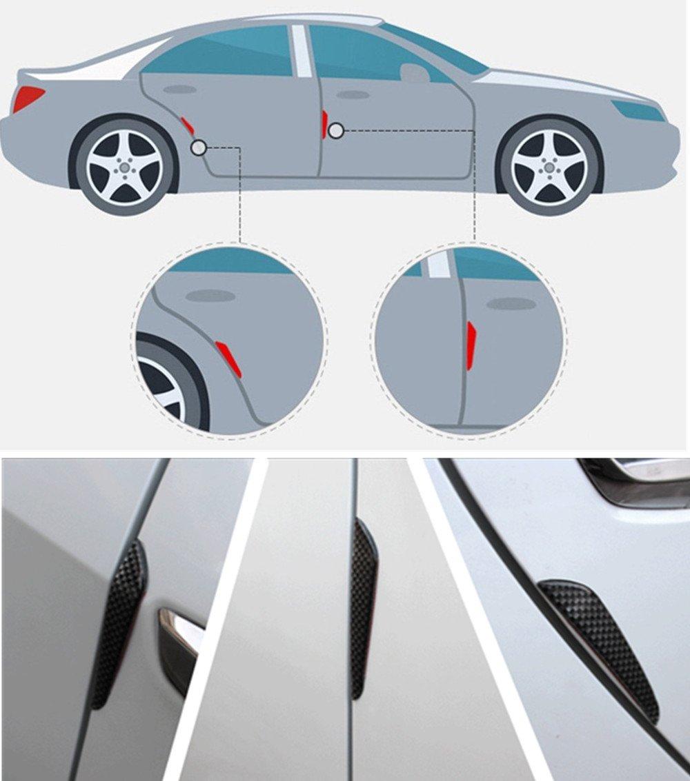 8,2ft 2.5 M Wefond Universal Car avant pare-chocs Spoiler caoutchouc autocollant Lip Splitter Body jupe protecteur