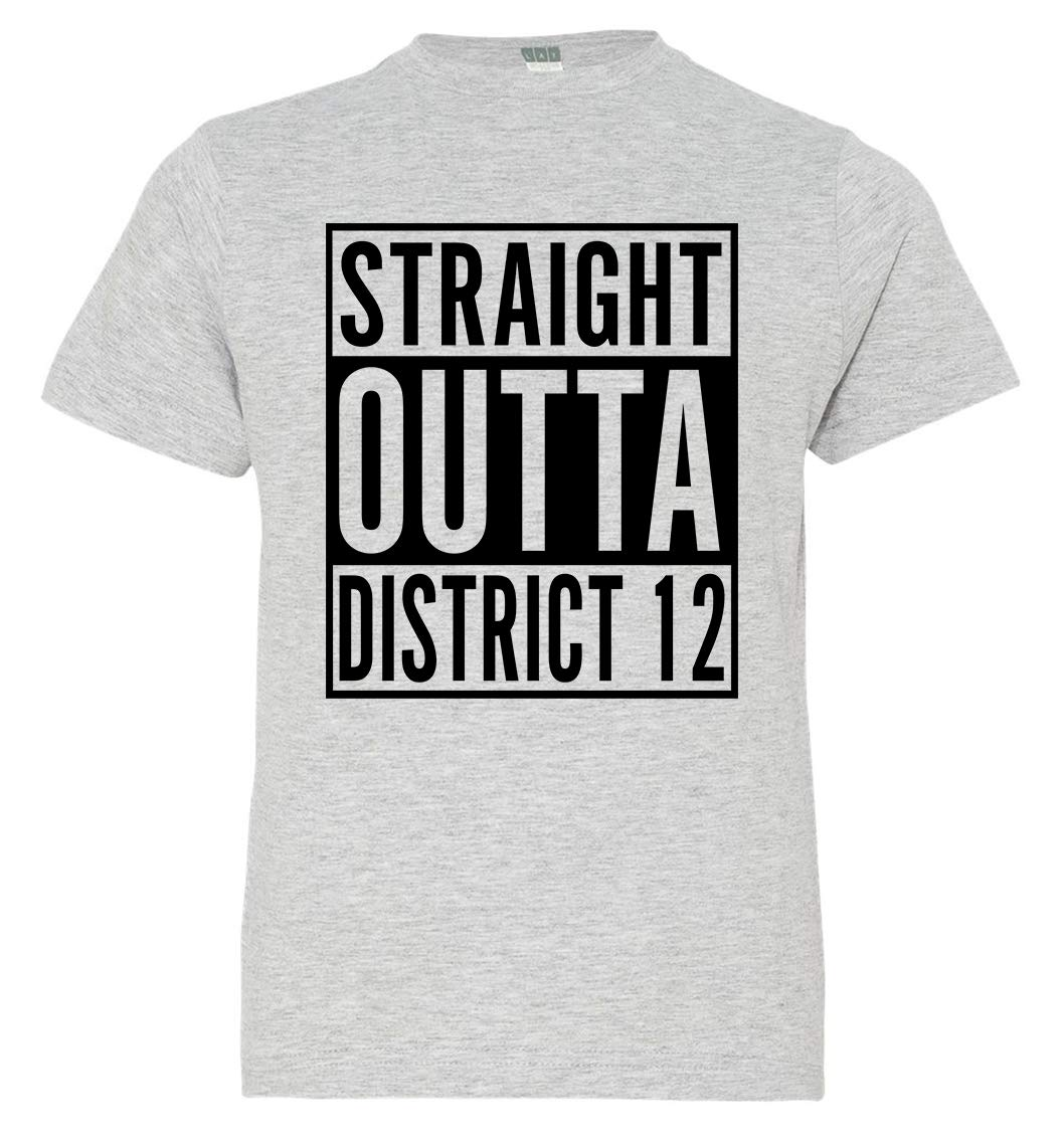 Girl S Straight Outta District 12 T Shirt