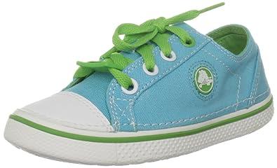 e62f5e83c326 Crocs Hover Metallic Lace-Up Sneaker (Toddler Little Kid Big Kid)