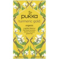 Pukka Turmeric Gold Organic Herbal Tea, 36g (Pack of 20)