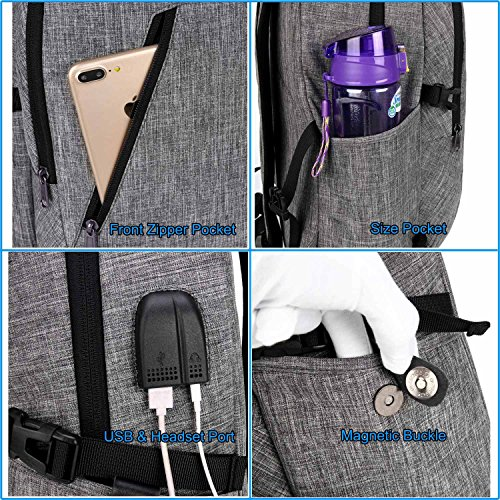 YIDUGO Backpack,Travel Bag Men,Anti College School Fits up Laptop