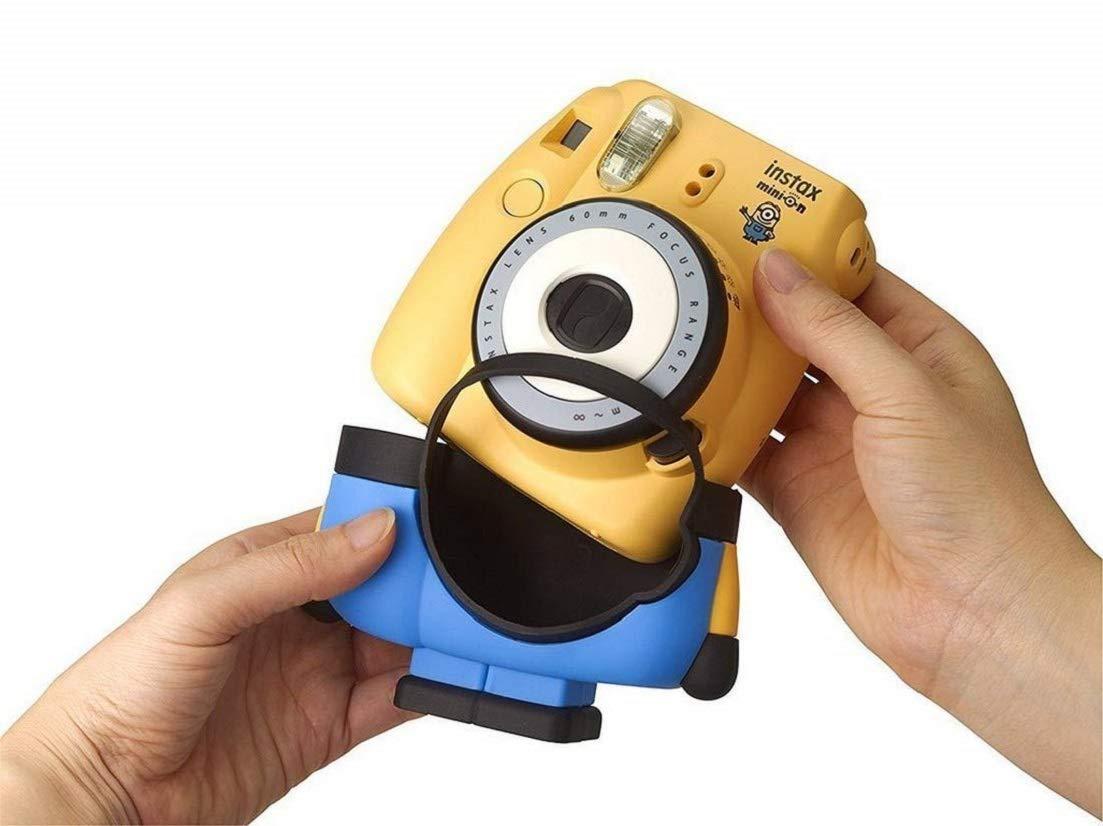 Minion Camera App : Instax mini 8 minion camera yellow blue: amazon.co.uk: camera & photo