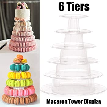 Tree Wedding Cake 590   Amazon Com Utenlid 4 Tier Stacked Party Cupcake And Dessert Tower