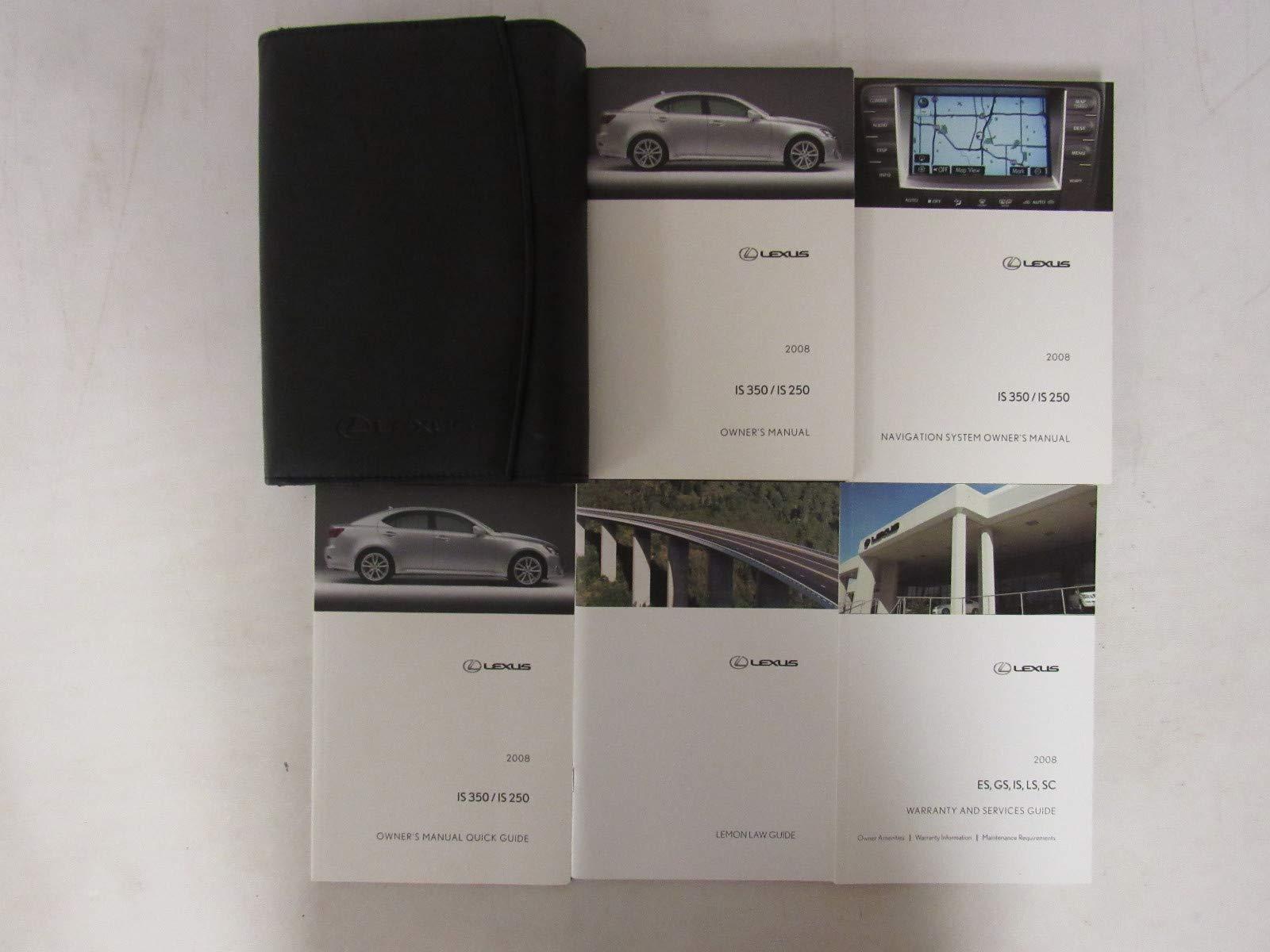 owners manual lexus is350