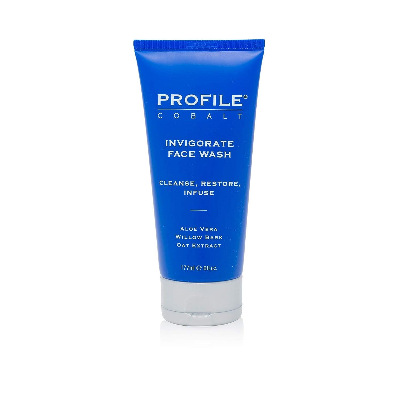 Profile   Cobalt Invigorate Face Wash for Men, 6 fl oz.