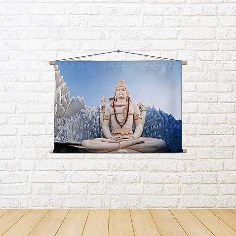 Buy Artzfolio Lord Shiva In Bangalore India D2 Canvas