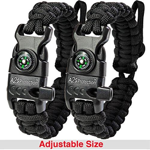 A2S Protection Paracord Bracelet K2 Peak product image
