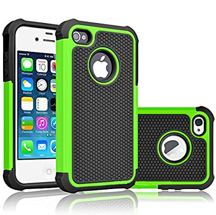 iPhone 5S Case, iPhone SE Case, Bestselling Shop Shock Absorbing Hybrid Defender Rugged Cover Skin Shell Hard Plastic Outer & Rubber Silicone Inner for iPhone 5 5S SE 5SE Case (Blue/Black) china