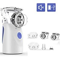 OHYONIZ Nebulizadores de Malla portátiles Nebulizador de Mano, Nebulizador ultrasónico portátil Mini inhalador de Mano…