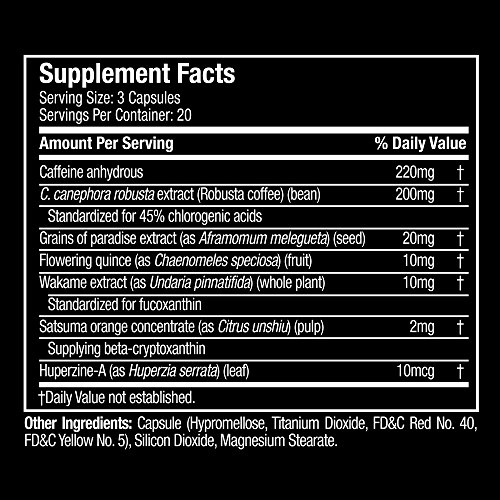 Hydroxycut Slay Weight Loss & Diet Supplement - Effective Weight Loss with Explosive Energy & Focus – 20 Servings (60 Pills) by Hydroxycut (Image #3)