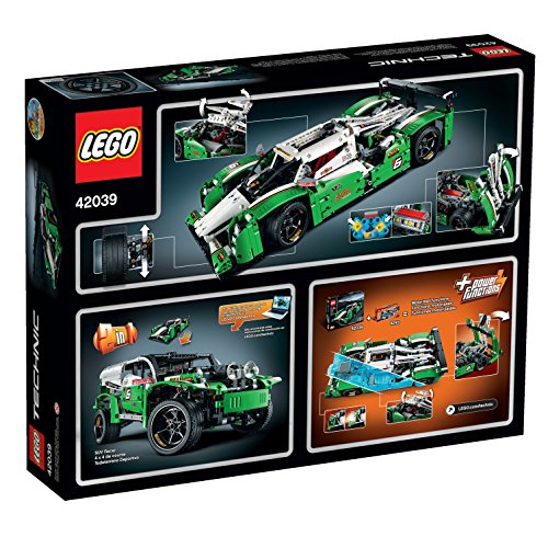 lego technic 24 hours race car import it all. Black Bedroom Furniture Sets. Home Design Ideas