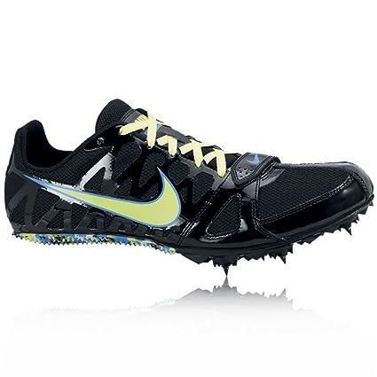 Nike Mens Zoom Rival S 6 Track Spike Black/Volt Size 9.5
