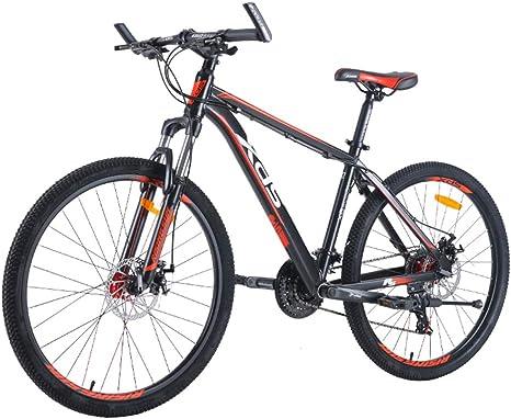 Qj BTT Bicicleta de montaña Hombres y Mujeres Adultos de 24 ...