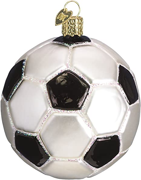 Old World Christmas Glass Blown Ornaments for Christmas Tree,Football