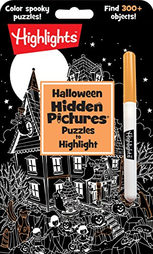 Halloween Hidden Pictures® Puzzles to Highlight (HighlightsTM  Hidden Pictures® Puzzles to Highlight Activity Books)
