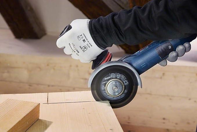 /Ø 125 mm,Di/ámetro del Orificio /Ø 22.23 mm para Amoladora Angular Bosch Professional 260925C127 Disco De Corte Carbide Multi Wheel Madera con Clavos,Pl/ástico,Paneles De Yeso,Tubos De Cobre,X-Lock