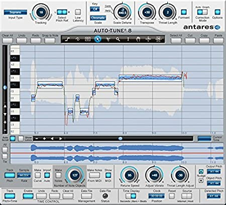 Antares Auto-Tune 8 Pitch Correction Software: Amazon co uk