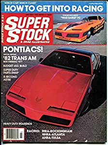 Super Stock & Drag Illustrated 6/1982-Trans Am-IHRA-NHRA-AHRA-VG