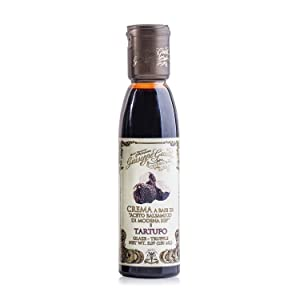 Giuseppe Giusti Italian Truffle Balsamic Glaze, Balsamic Reduction from Balsamic Vinegar of Modena IGP 5.07 fl oz (150ml)