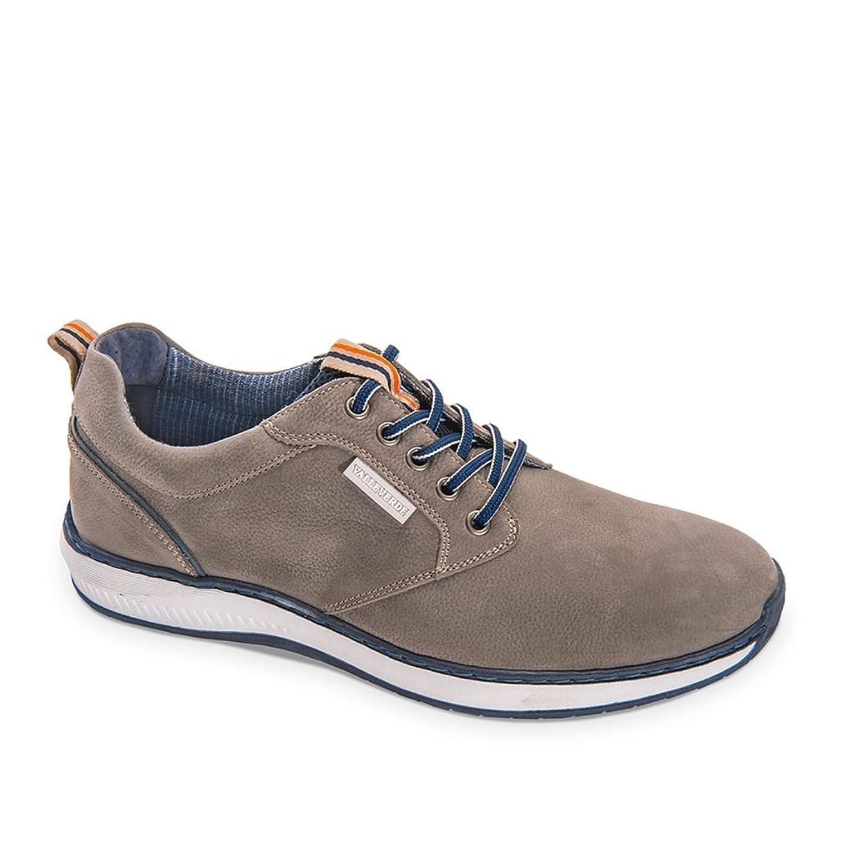 Valleverde Zapatillas Sneakers para Hombre EN Cuero Gris Informal 39 EU
