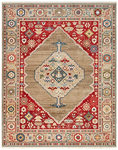 Cheap Stone & Beam Traditional Regal Adornment Rug, 8′ x 10′, Burgundy