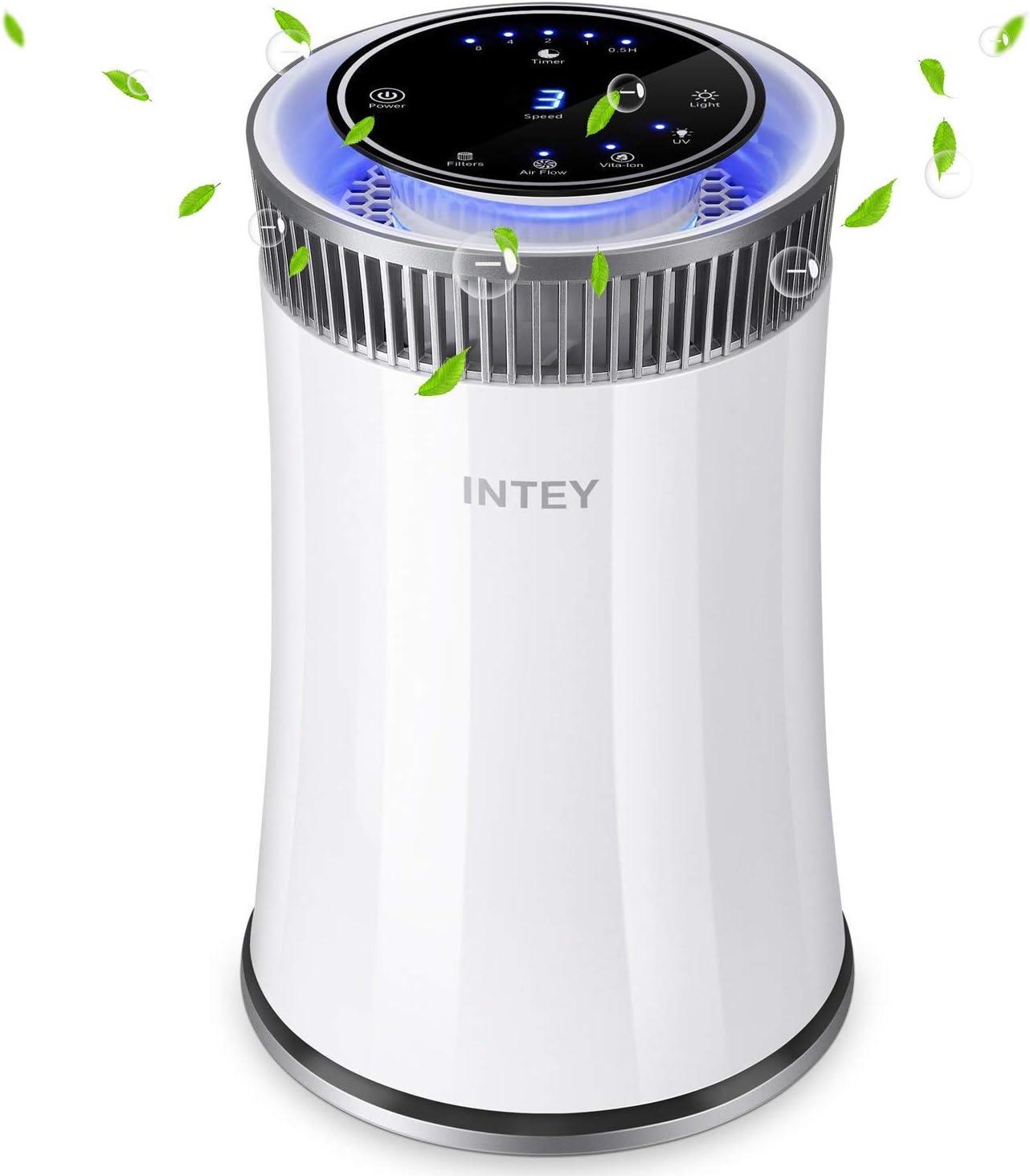 INTEY - Prificador De Aire Filtro HEPA Carbón Activado De Alta ...