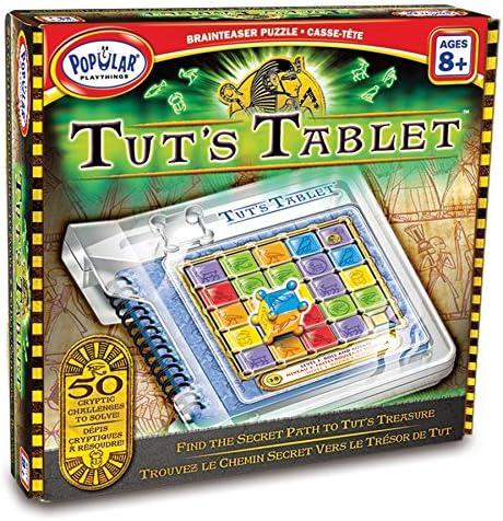 Popular Playthings Tut de Tablet Brainteaser Puzzle: Amazon.es: Juguetes y juegos
