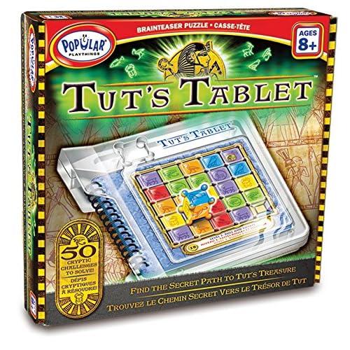 Popular Playthings Tut de Tablet Brainteaser Puzzle