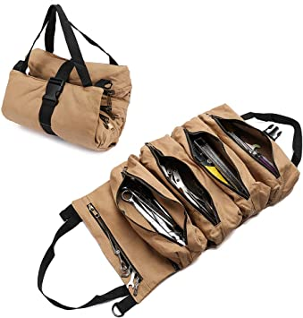 New Bucket Boss 70004 Tool Roll Bags Belts Pouches Boxes Storage Tools Garden