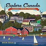 Explore Canada 2018 Wall Calendar