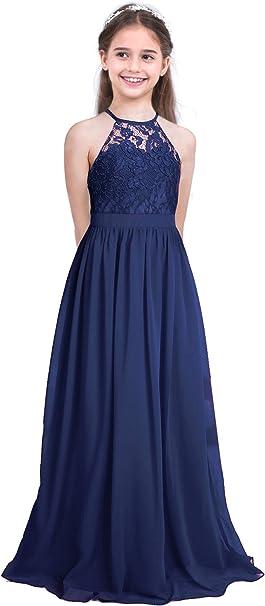 Alvivi Vestido Elegante Largo de Princesa Traje de Ceremonia ...
