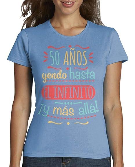 latostadora - Camiseta 50 Anos hasta el para Mujer