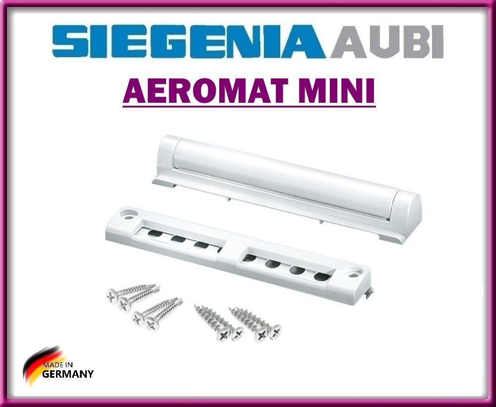 Fensterluftungssystem Aeromat Mini Mit Drehverschluss Geeignet