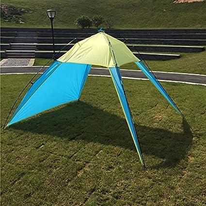 Outdoor Camping Tent UV Protect Tarp Sun Shade Fishing Beach Garden Sunshade