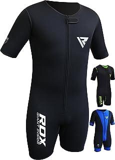 RDX Fitness Néoprène Combinaison Sudation Survêtement Minceur Entraînement  Sauna Suit Perte De Poids 6d1b28c298e