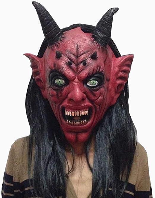 Máscara de látex para Halloween de Watopi, cómoda y sangrienta ...