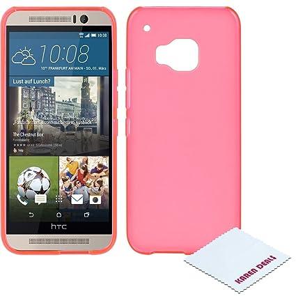 Amazon.com: HTC One/M9/Hima Funda, [transparente/Frost] Slim ...