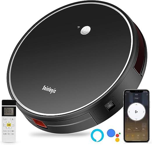 sainlogic Robot Aspirador con WiFi y función sin Enchufe ...