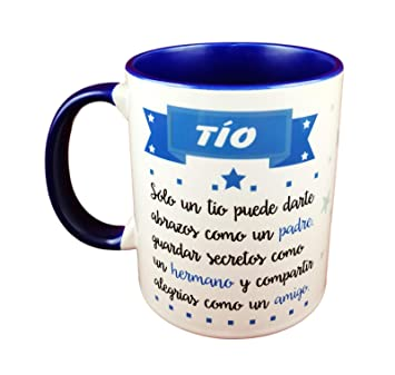 MISORPRESA Taza Color DEFINICION DE TIO. Ideal como Regalo para TIO.: Amazon.es: Hogar