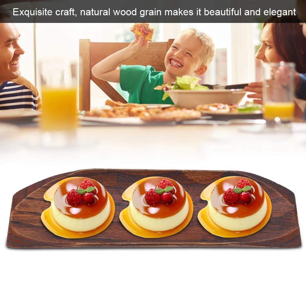 H/ölzerner Sushi Beh/älter h/ölzerner Umh/üllungspaddel-Brett-nat/ürliche japanische Art umweltfreundlicheTableware-Platten f/ür das Sortieren organisierend