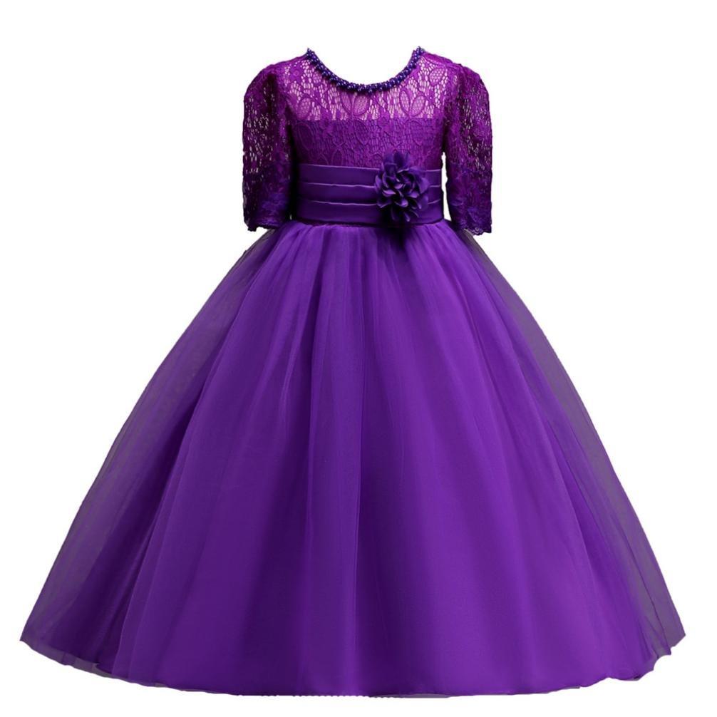 Vestido de fiesta para niña Vestido de boda del partido del vestido ...