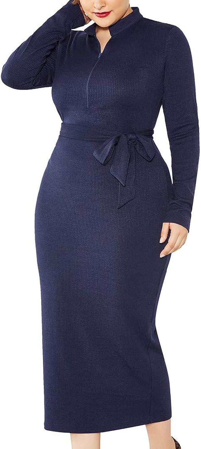 LOPILY Kleider Damen Figurbetonte Abendkleider Große Größen