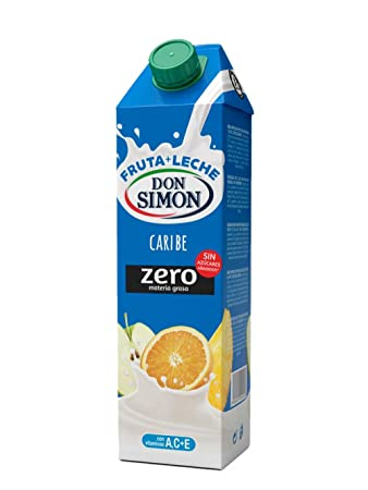 Don Simon Fruta Leche D.S. Caribe Gemina - Pack de 12 x 1 l - Total: 12 l: Amazon.es: Amazon Pantry