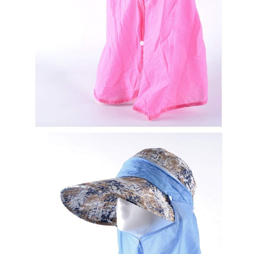 Beach Summer Hats Women Sun Hats Hollow Cap Sun Visor Cap Anti-uv Hat