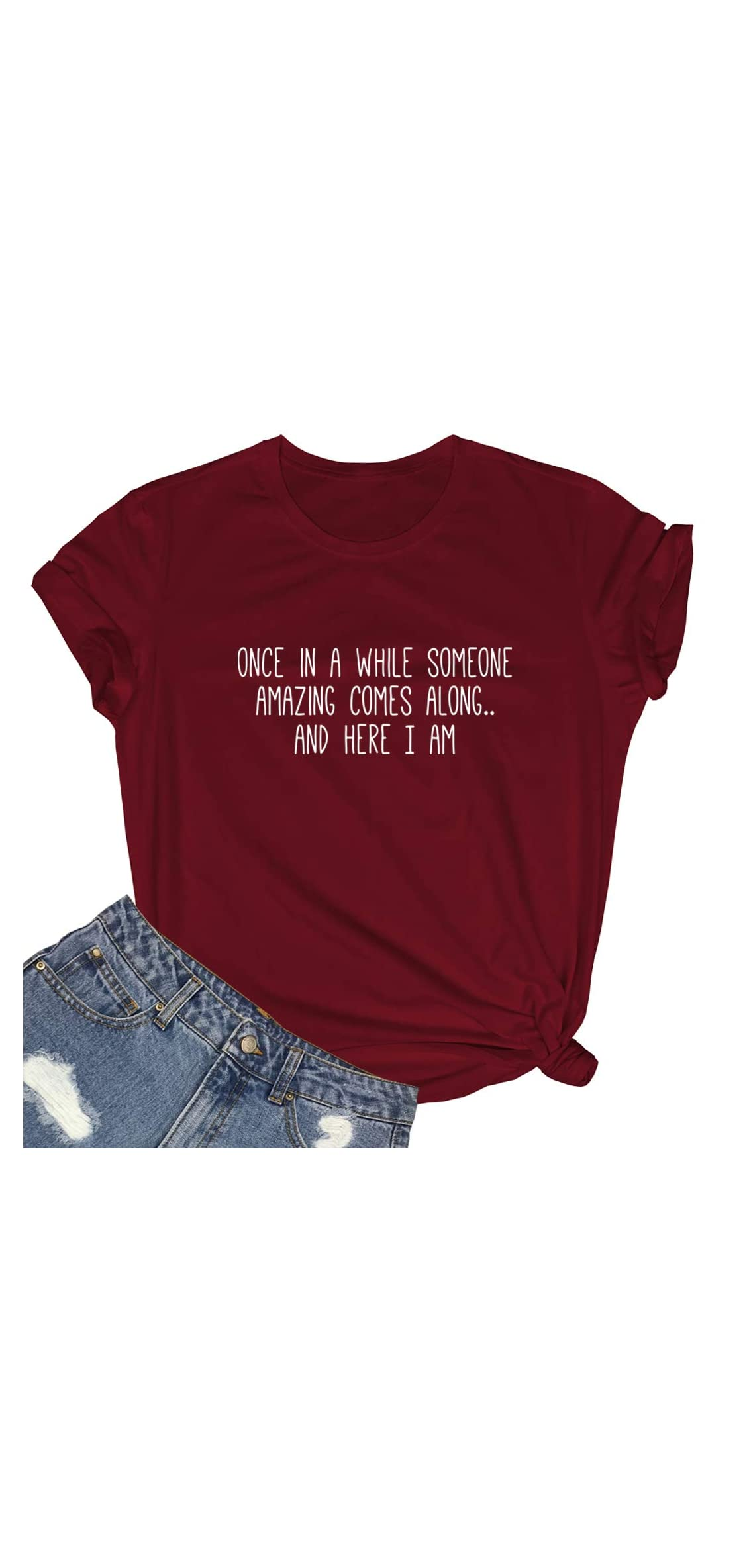 Women Cute Tees Graphic Funny Girl Tshirts